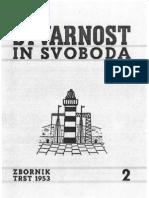 Stvarnost in Svoboda Zbornik 1953 - 2