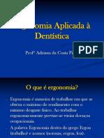 Ergonomia em dentística