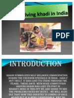 Reviving Khadi in India