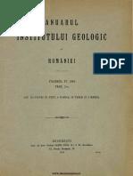 Anuarul Institutului Geologic Al României, Volumul 04, Fascicula 2, 1910