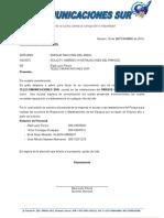 informe carta