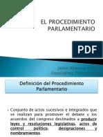 Procedimientos parlamentarios - Procedimiento Legislativo.pptx