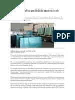 importacion de vidrio