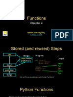 Pythonlearn 04 Functions