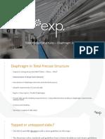 Diaphragm Desing - Total Precast