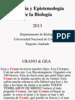 Filosofía y Epistemología de la Biología