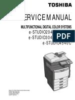 Manual de Servicio 4540c