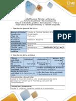 Guía de Actividades - Paso 2 - Importancia de La Psicometria y La Variable Asignada