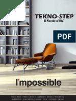 Catalogo de pisos de madera Tekno-step