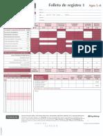 CELF 4 Spanish - Protocolo de respuestas 5 a 8 años