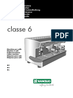 Rancilio Classe6 User Manual