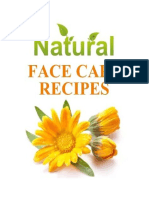Natural Face Care Recipes PDF 1st Ed
