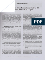 El origen de la etica Las raices evolutivas del fenomeno moral en F J Ayala.pdf