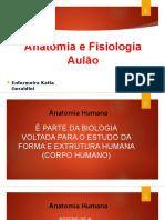 Aulão 02 Anatomia e Fisiologia