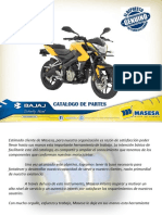 Pulsar200ns_bajaj Manual Partes