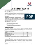 Bt Evora Turbo Max Sae 15w40 API Ci 4