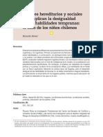 Factores hereditarios y sociales que explican la desigualdad en las habilidades tempranas