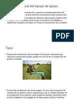 Equipos de apoyo agricolas