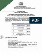 CDO 367 SANTA CRUZ Modulo Tecnologico Productivo MTP Plan 3000 Barrio Minero