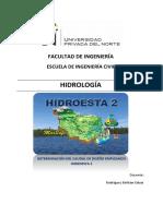 Semana 16 - HIDROLOGÍA - Hidroest2
