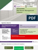 SuperSeva TrakMail Automated Mail Room Management -Mini