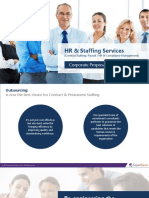 Contract Staffing and Payroll Management New