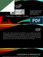 Protocolos Codecs Telefonia IP