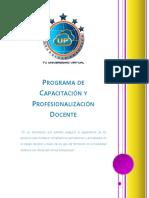 Programa de Capacitación Versión 2