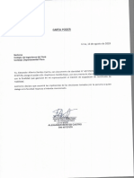 Carta Poder Alex Benites 16 Agosto
