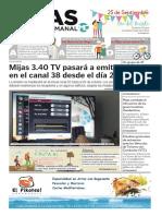 Mijas Semanal Nº857 Del 20 al 26 de Septiembre de 2019
