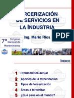 organizacion de servicios en la industria