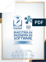 Maestría en Ingeniería en Software
