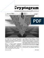 Sample Cryptogram