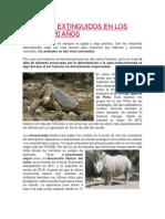 ANIMALES EXTINGUIDOS EN LOS ÚLTIMOS 20 AÑOS.docx