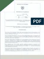Resolucion 4100 de 2004 (Tipologia, Pesos y Dimensiones de Vehiculos)
