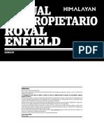 Manual Royal Enfield