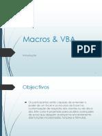 Manual Macros e VBA