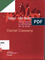 Daniel Cassany - Taller de textos_ leer, escribir y comentar en el aula-Editorial Paidós (2006).pdf