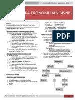 Matematika Ekonomi Dan Bisnis