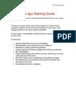 Naming Guide