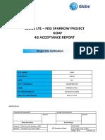 [Slz Sparrow] Lte Fdd Goaf Ssv Acceptance Report