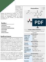 Pentoxifilina