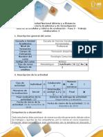 Guía de Actividades Fase 5 - Trabajo Final-Transferencia