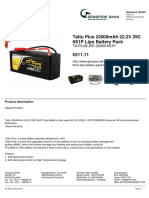 Tattu Plus 22000mAh 22.2V