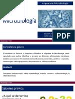 Microbiología, bacteriología, ciclo celular