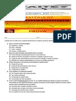 06 - Pneumatologia Prova