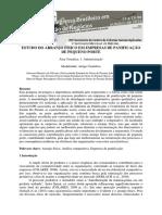 Estudo Do Arranjo Fisico Em Empresas de Panificacao de Pequeno Porte