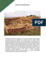 Antigua Cilivizacion Fenicia