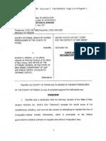 Immigration Trust Directive suit