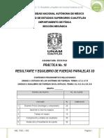 p 10 Resultante y Equilibrio Fuerzas Paralelas 3d_2019-II